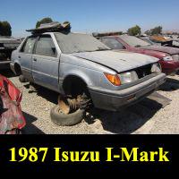 Junkyard 1987 Isuzu I-Mark