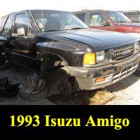 Junkyard 1993 Isuzu Amigo