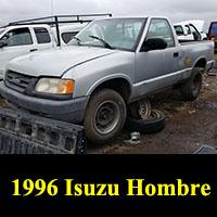 Junkyard 1996 Isuzu Hombre