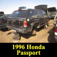 Junkyard 1996 Honda Passport