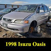 Junkyard 1998 Isuzu Oasis