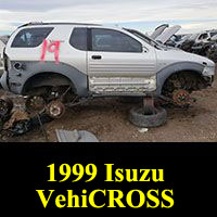 1999 Isuzu VehiCROSS