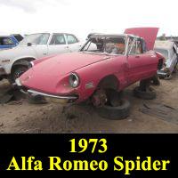 Junkyard 1973 Alfa Romeo Spider