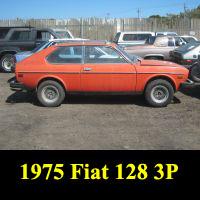 Junkyard 1975 Fiat 128 3P