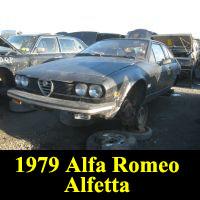 Junkyard 1979 Alfa Romeo Alfetta GTV