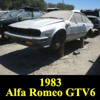 Junkyard 1983 Alfa Romeo GTV6