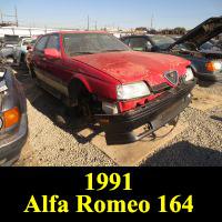 Junkyard 1991 Alfa Romeo 164