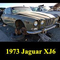 Junkyard 1973 Jaguar XJ6
