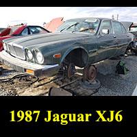 Junkyard 1987 Jaguar XJ6