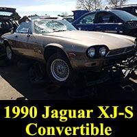 Junkyard 1990 Jaguar XJ-S convertible