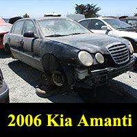 Junkyard 2006 Kia Amanti