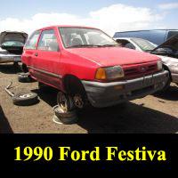 Junkyard 1990 Ford Festiva