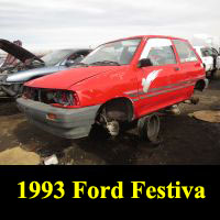 Junkyard 1993 Ford Festiva L