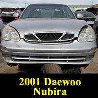 Junkyard 2001 Daewoo Nubira