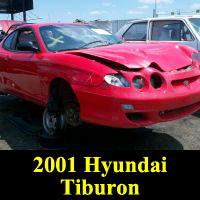 Junkyard 2001 Hyundai Tiburon