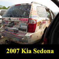 Junkyard 2007 Kia Sedona