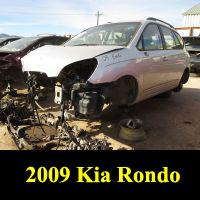 Junkyard 2009 Kia Rondo