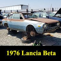 Junkyard 1976 Lancia Beta Coupe
