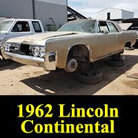 Junkyard 1962 Lincoln Continental