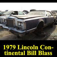 Junkyard 1979 Lincoln Continental Bill Blass