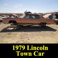 Junkyard 1979 Lincoln Continental Town Car