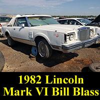 1982 Lincoln Mark VI Bill Blass Edition