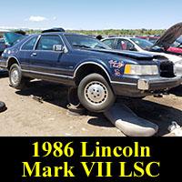1986 Lincoln Mark VII LSC