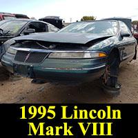 Junkyard 1995 Lincoln Mark VIII
