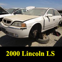 Junkyard 2000 Lincoln LS