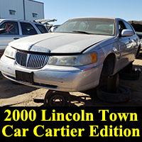 Junkyard 2000 Lincoln Town Car