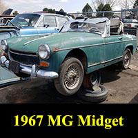 Junkyard 1967 MG Midget
