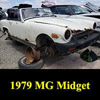 Junkyard 1979 MG Midget