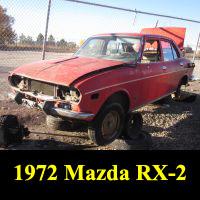 Junkyard 1972 Mazda RX-2