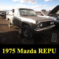Junkyard 1975 Mazda REPU