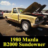 Junkyard 1980 Mazda B2000