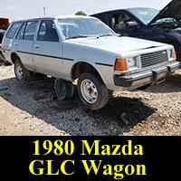 Junkyard 1980 Mazda GLC Wagon