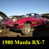 Junkyard 1980 Mazda RX-7