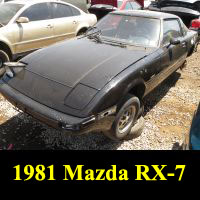 Junkyard 1981 Mazda RX-7