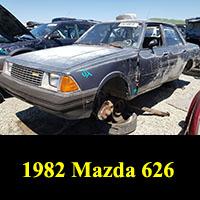 Junkyard 1982 Mazda 626