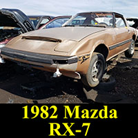 Junkyard 1982 Mazda RX-7