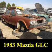 Junkyard 1983 Mazda GLC