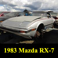Junkyard 1983 Mazda RX-7