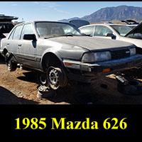Junkyard 1985 Mazda 626