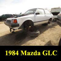 Junkyard 1984 Mazda GLC