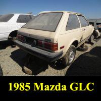 Junkyard 1985 Mazda GLC