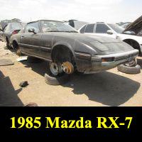 Junkyard 1985 Mazda RX-7