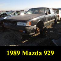 Junkyard 1989 Mazda 929