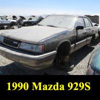 Junkyard 1990 Mazda 929