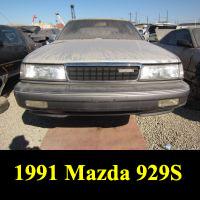 Junkyard 1991 Mazda 929S