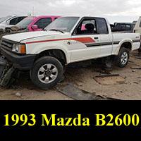 Junkyard 1993 Mazda B2600 Pickup